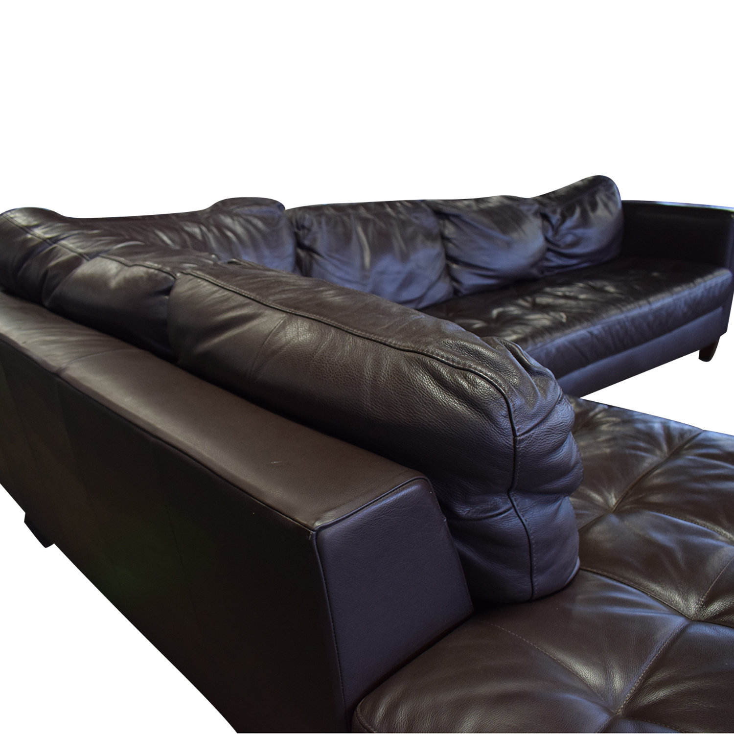 Natuzzi Natuzzi Editions Leather Sectional second hand