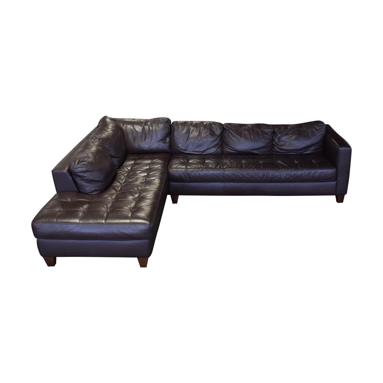 Natuzzi Natuzzi Editions Leather Sectional used