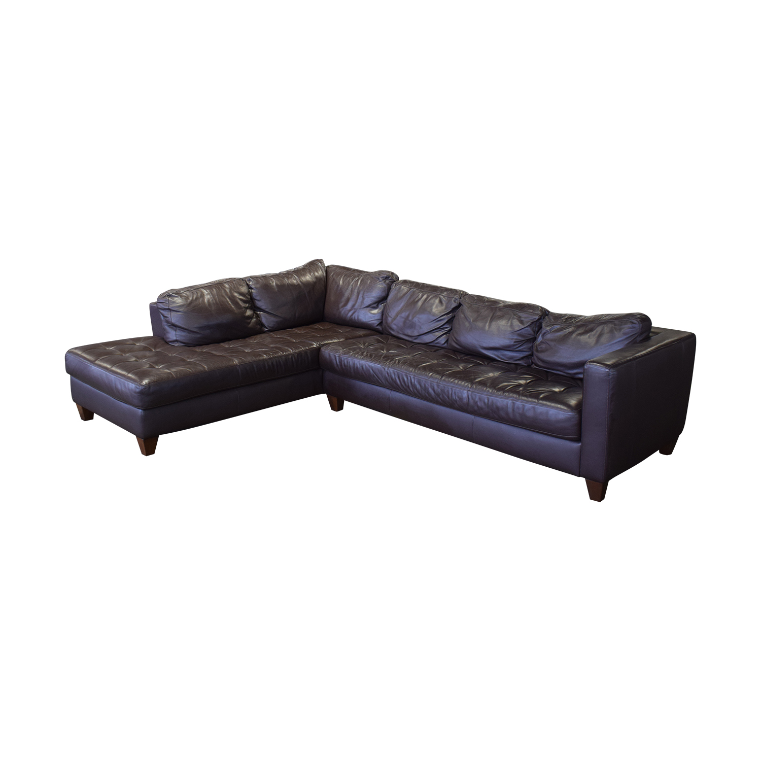 Natuzzi Editions Leather Sectional sale