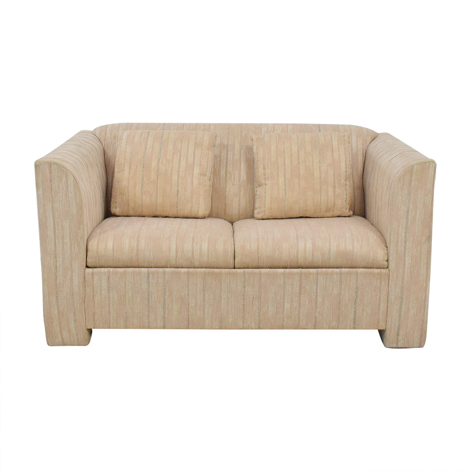 shop Sealy Furniture Twin Sleeper Loveseat Sealy