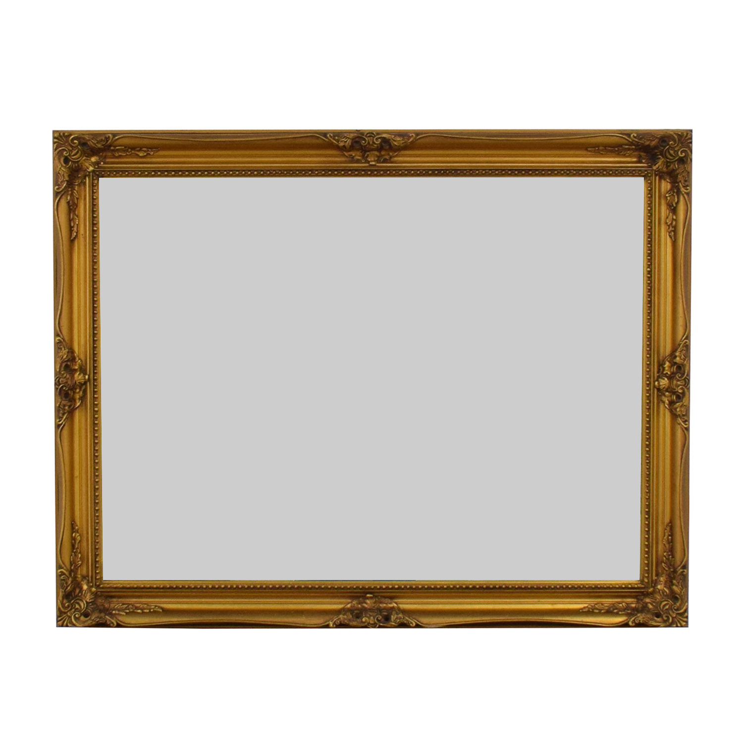 buy Vintage Gold Embellished Mirror
