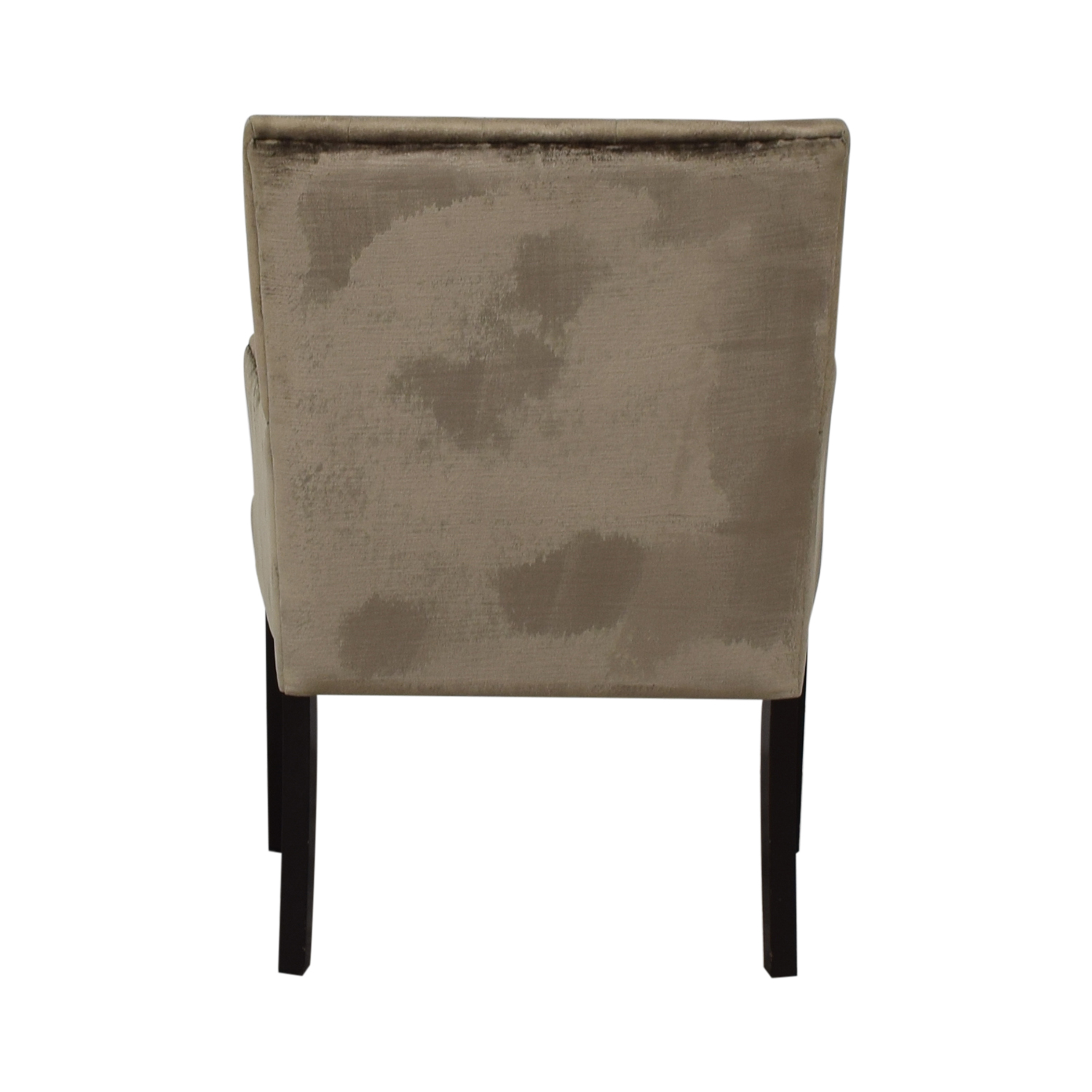Z Gallerie Gold Tufted Armchair / Chairs
