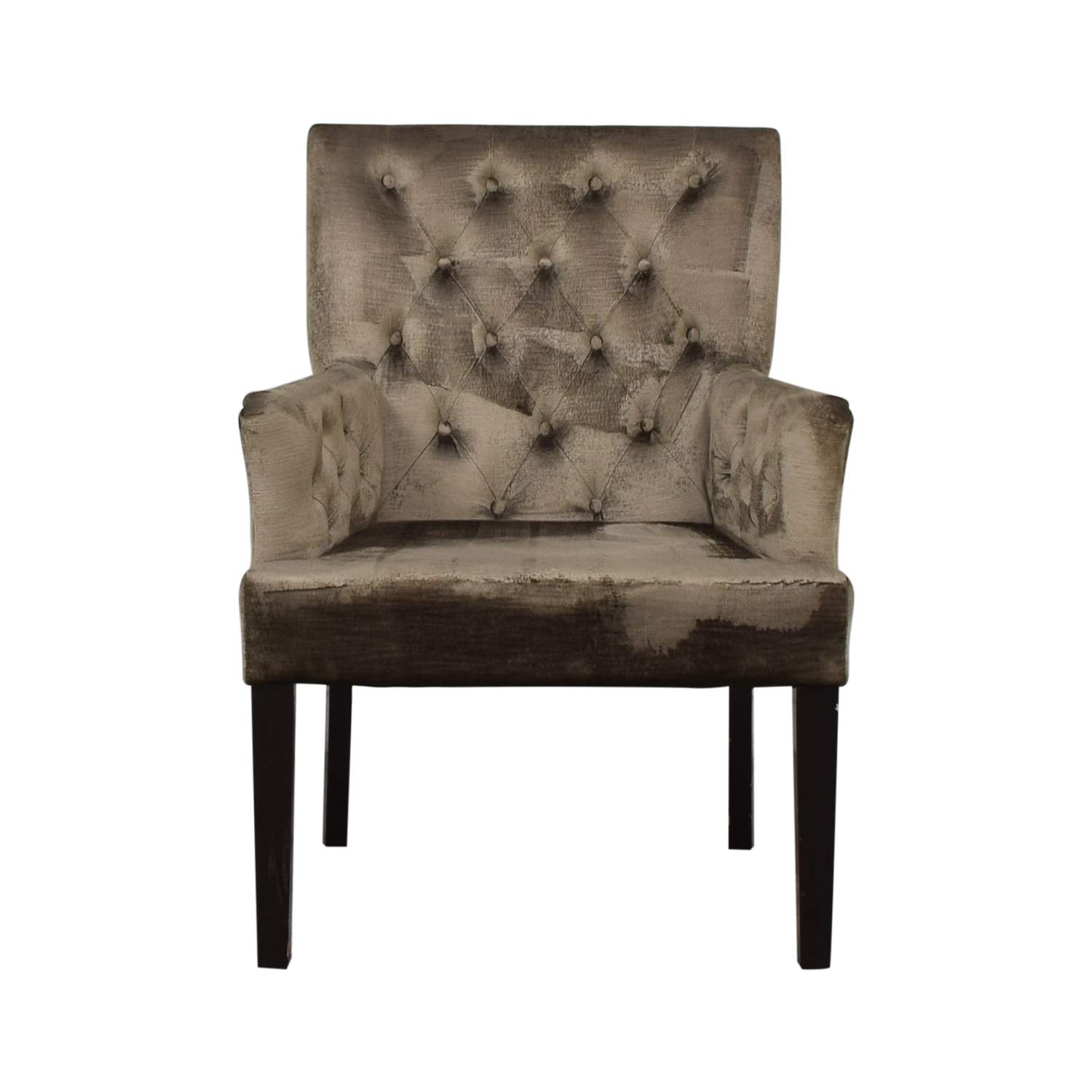 Z Gallerie Z Gallerie Lola Dining Armchair used