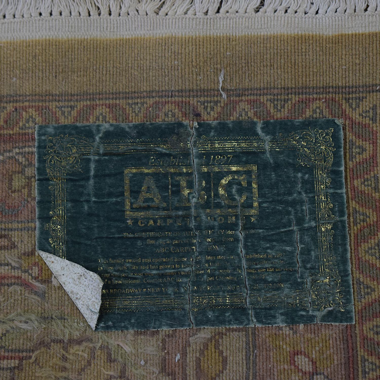 ABC Carpet & Home ABC Carpet & Home Decorative Rug used
