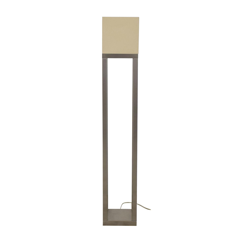 shop Crate & Barrel Aerin Floor Lamp Crate & Barrel Lamps