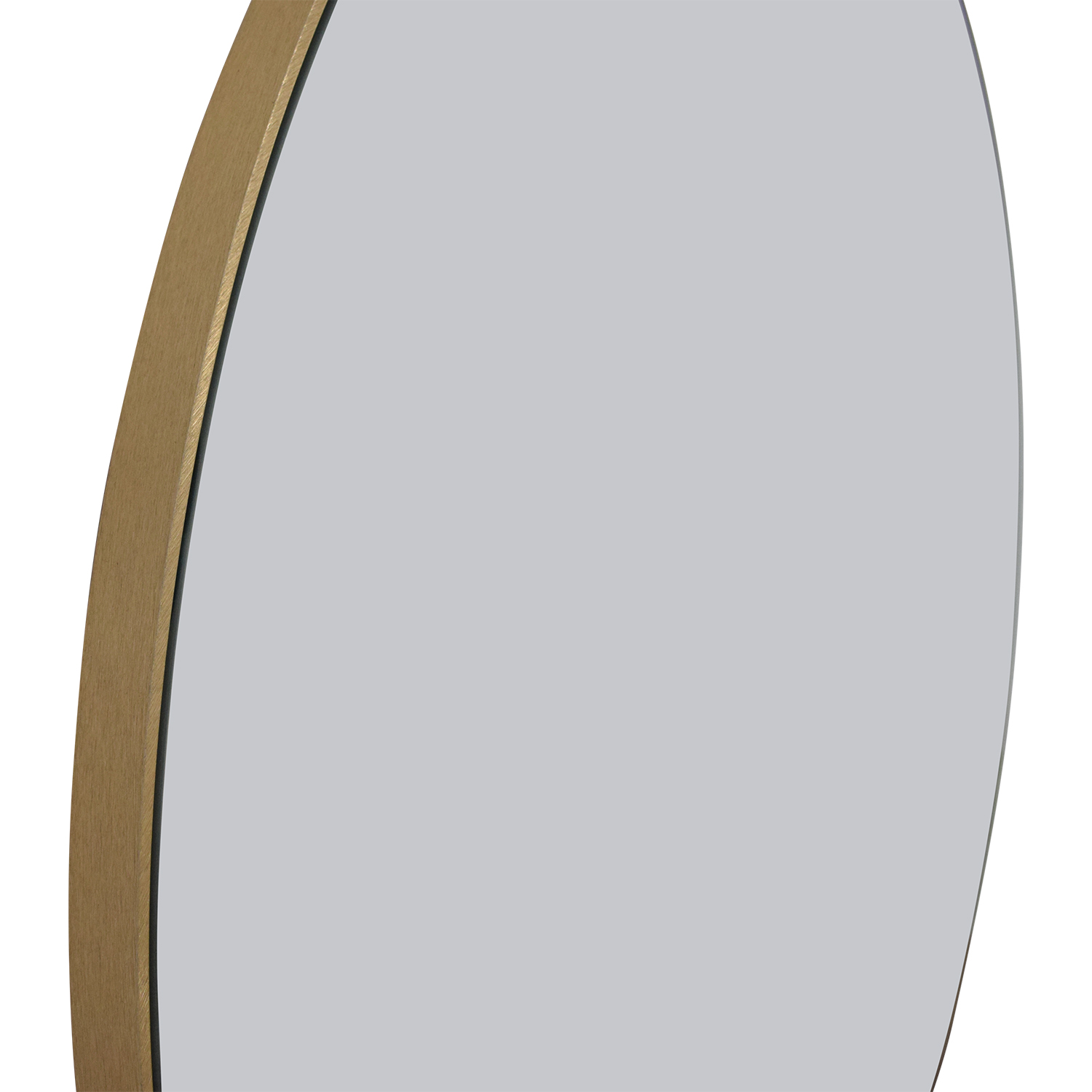 CB2 CB2 Infinity Round Brass Wall Mirror dimensions