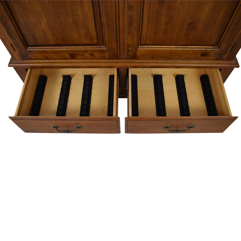 Ethan Allen Media Cabinet Armoire / Wardrobes & Armoires