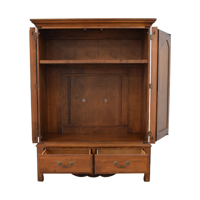 Ethan Allen Ethan Allen Media Cabinet Armoire Wardrobes & Armoires