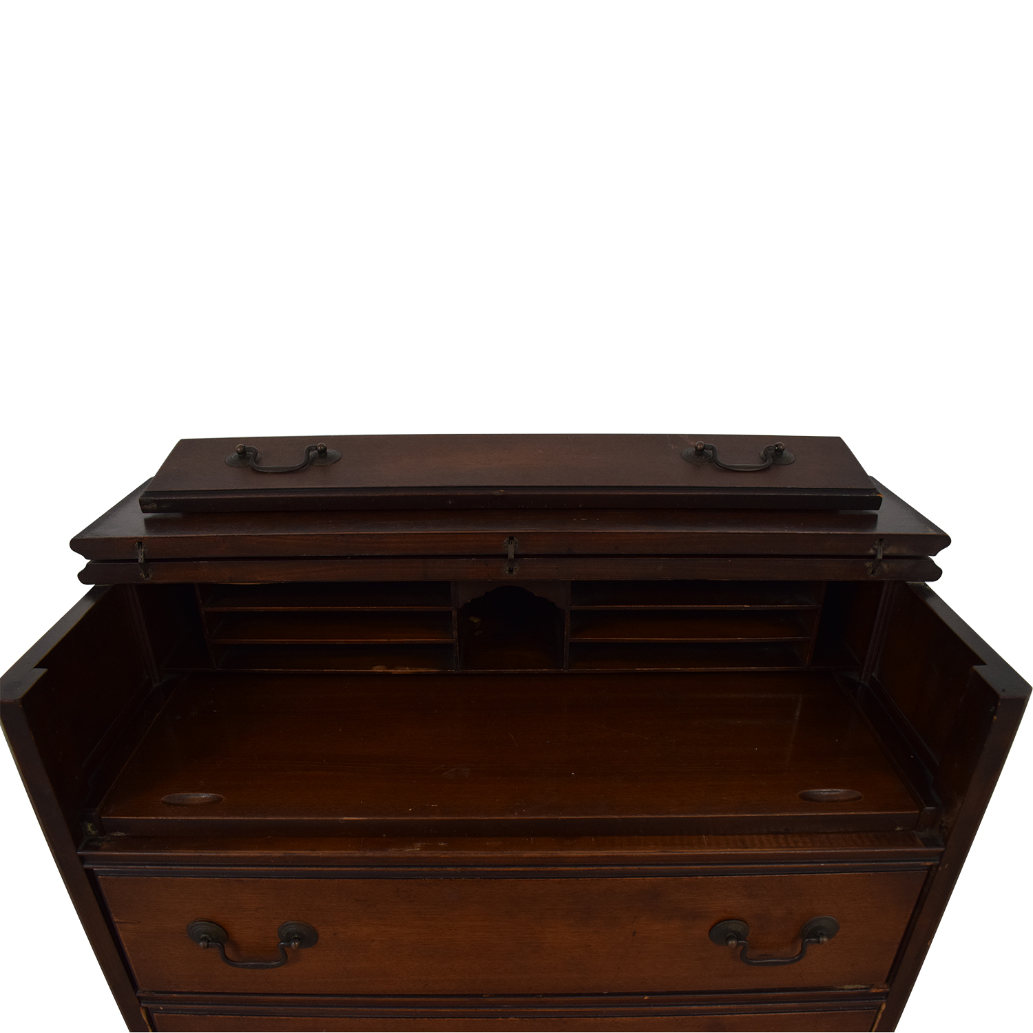 Antique Chest Of Three Drawers
