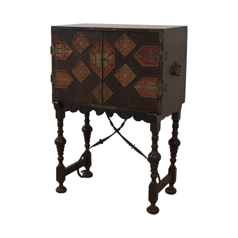 Antique Spanish Storage Cabinet dimensions