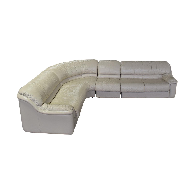 Natuzzi Natuzzi Sectional Couch Sectionals