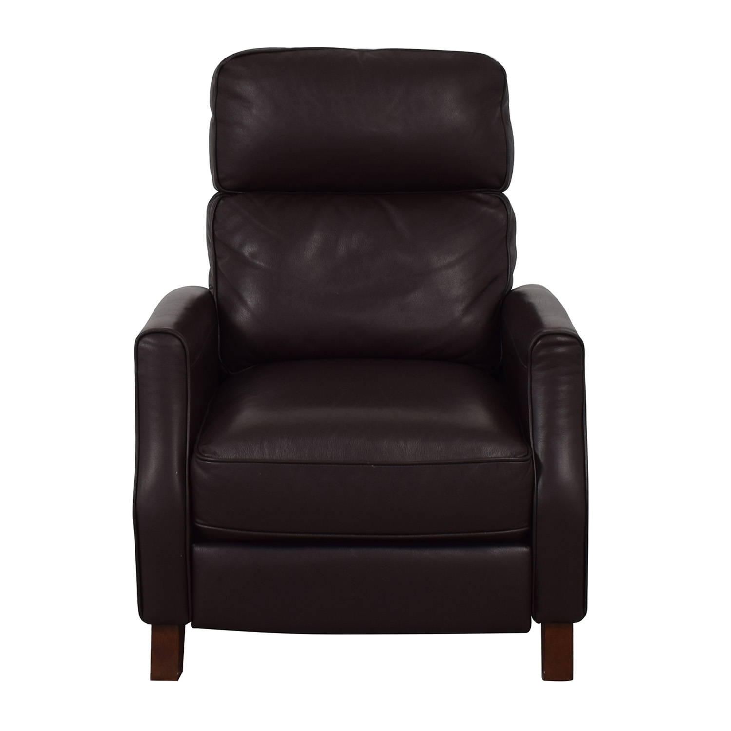 Macy's Macy's Leather Recliner Brown