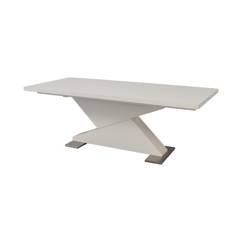 shop VIG Modrest Bono Z Modern Dining Table VIG Dinner Tables