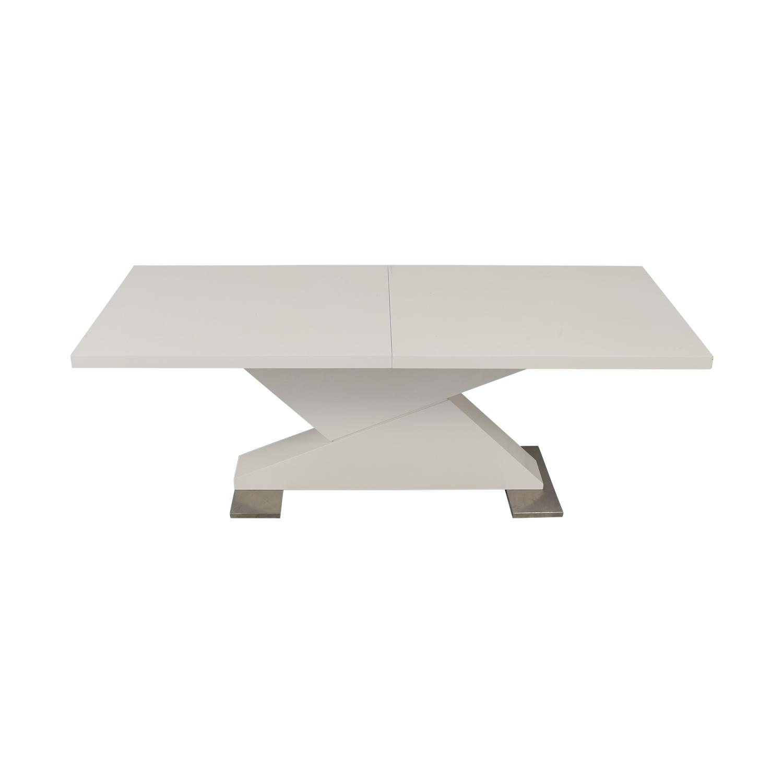 VIG VIG Modrest Bono Z Modern Dining Table white