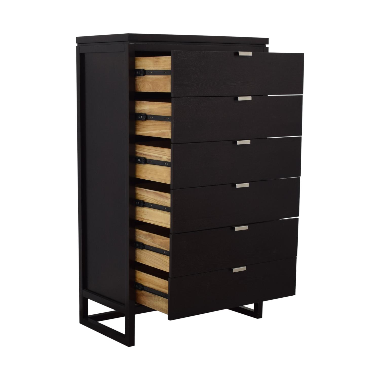 Tall Six Drawer Dresser Storage