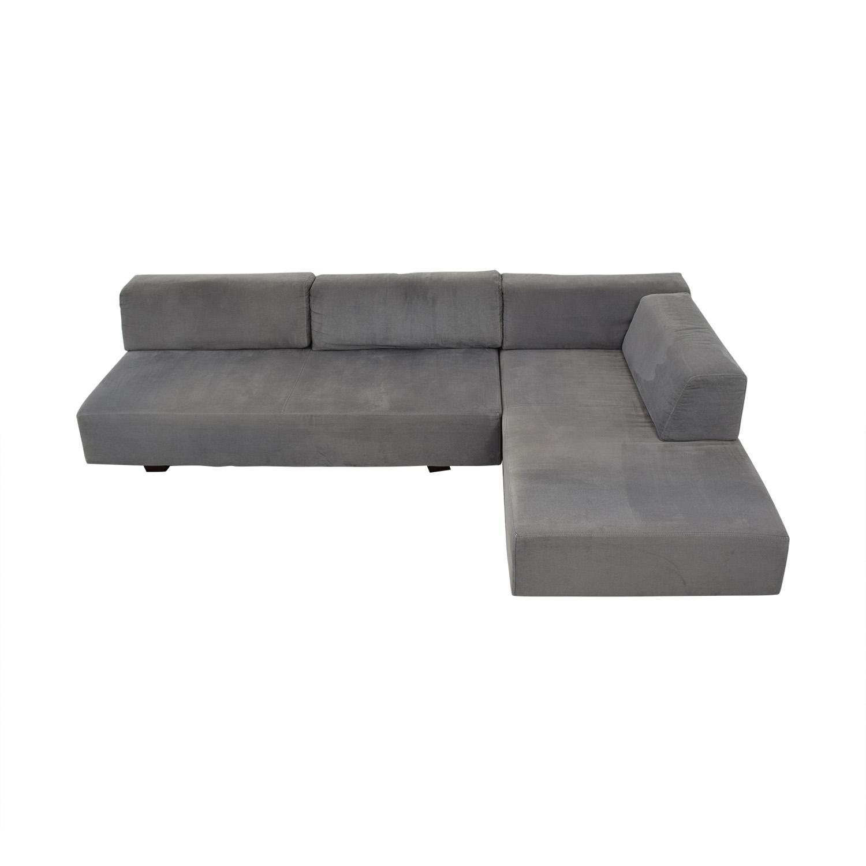 West Elm West Elm Tillary Modular Sectional Sofa dimensions