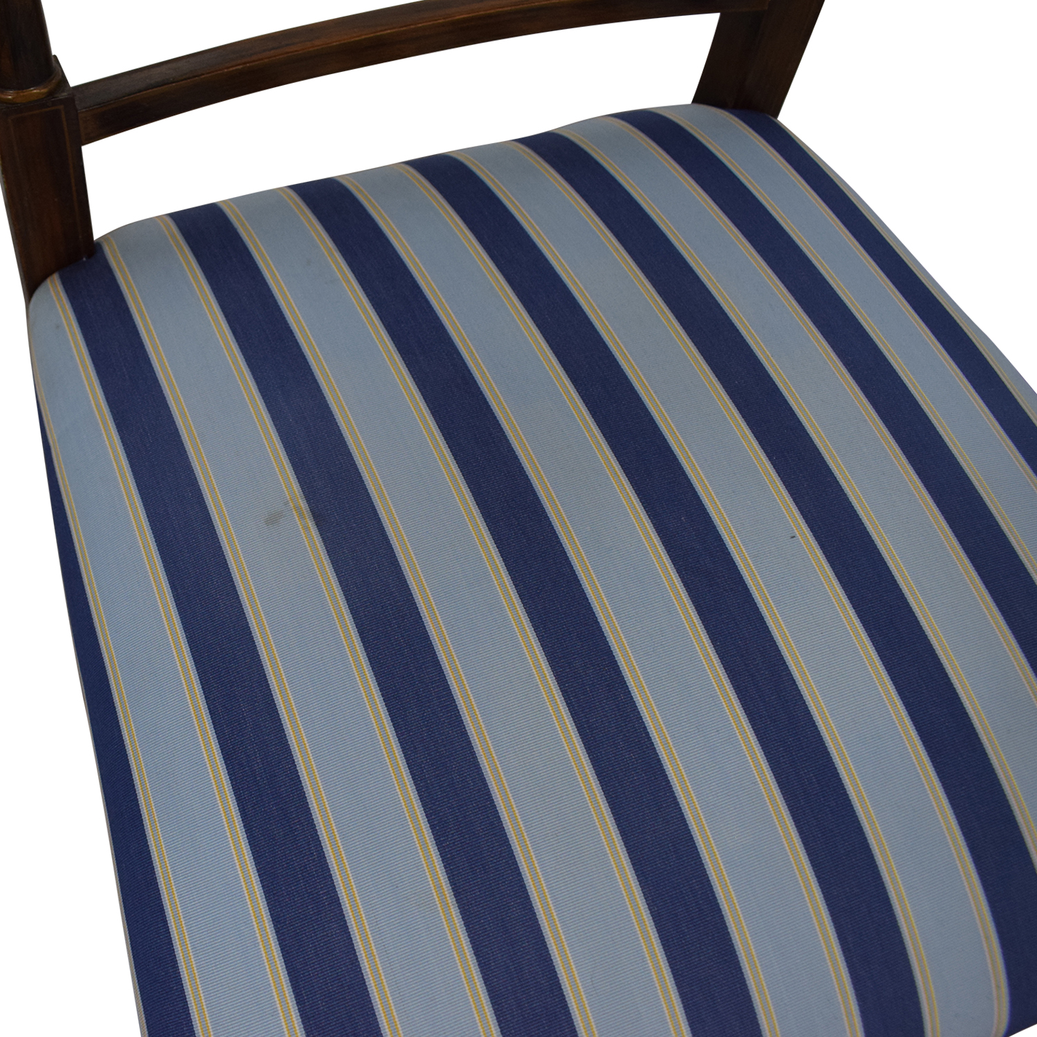 buy Hickory Chair Hickory Chair Striped Blue Dining Chairs online