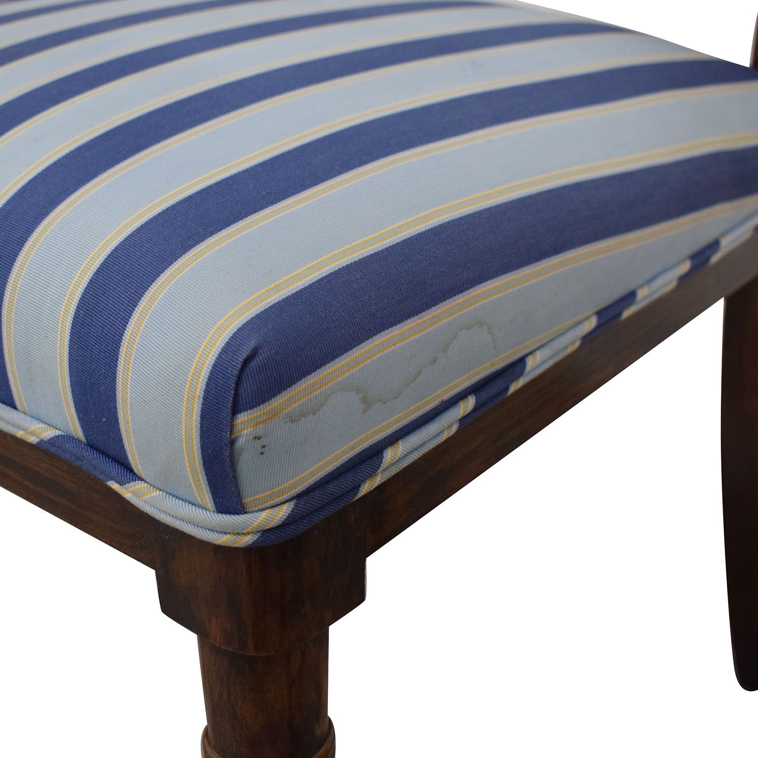 Hickory Chair Hickory Chair Striped Blue Dining Chairs on sale