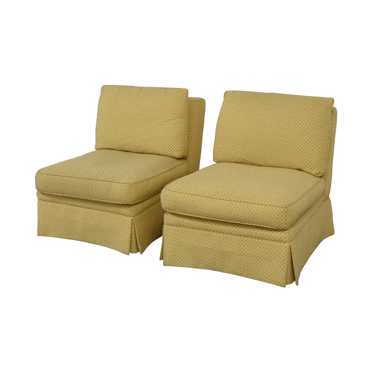 Sherrill Furniture Sherrill Armless Side Accent Chairs Chairs