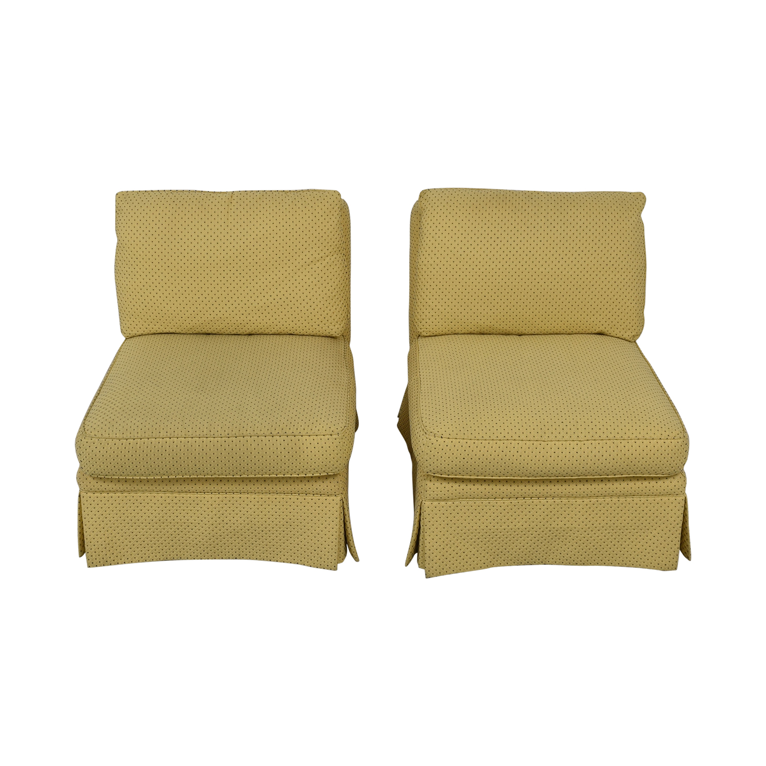Sherrill Furniture Sherrill Armless Side Accent Chairs discount