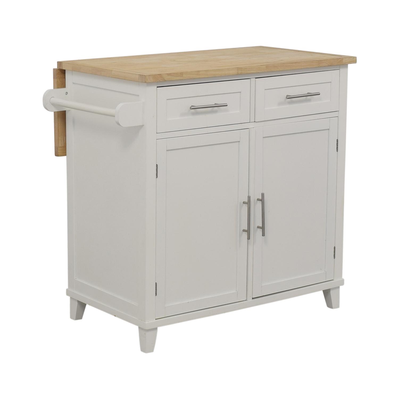 66 Off Kitchen Island Storage Cabinet Tables