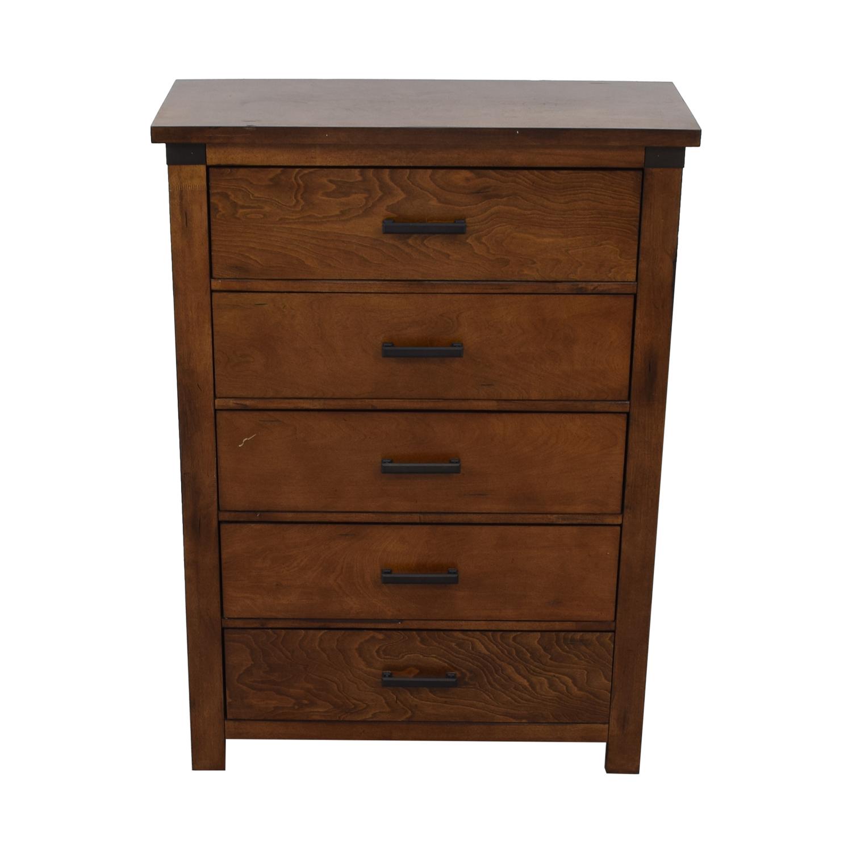 buy Loon Peak Cergy Five Drawer Chest Loon Peak Dressers