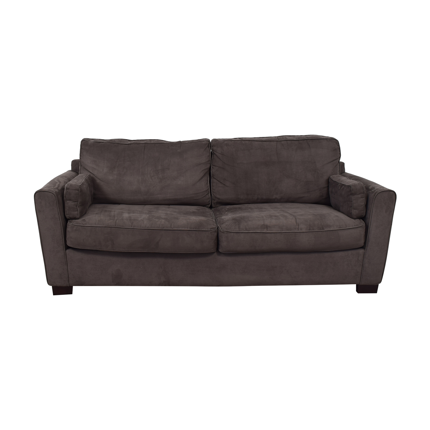 Bloomingdale's Bloomingdale's Microsuede Two Cushion Sofa used
