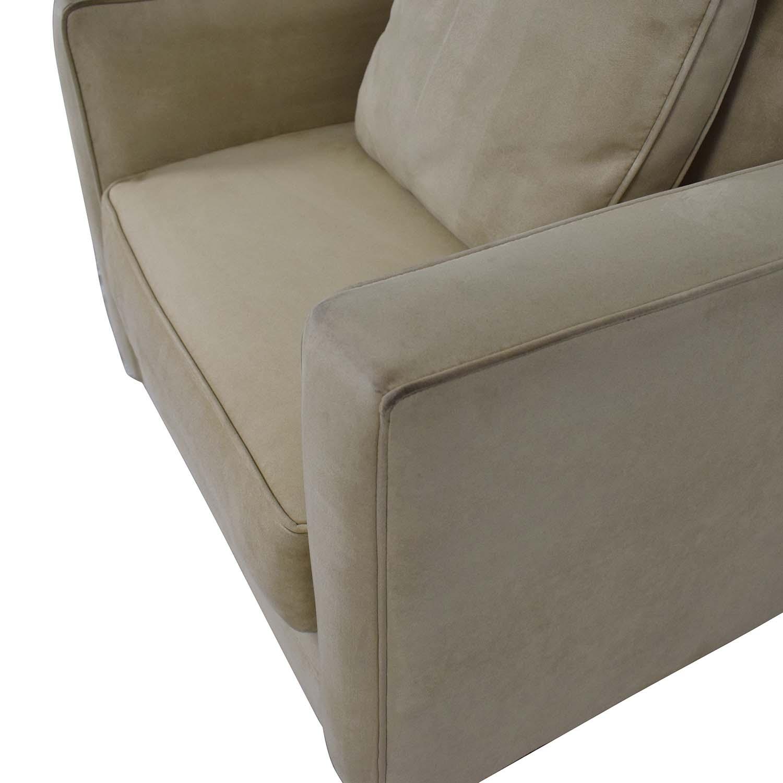 Bauhaus Furniture Suede Armchair Bauhaus Furniture