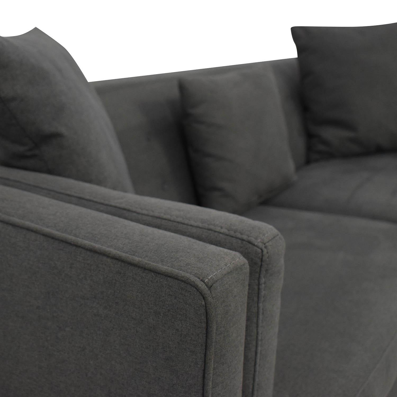 Macy's Macy's Braylei Track Arm Sofa nj