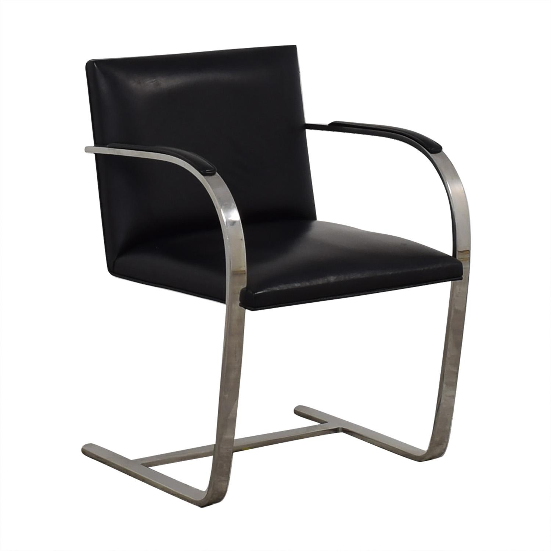 Knoll Knoll BRNO Chair black