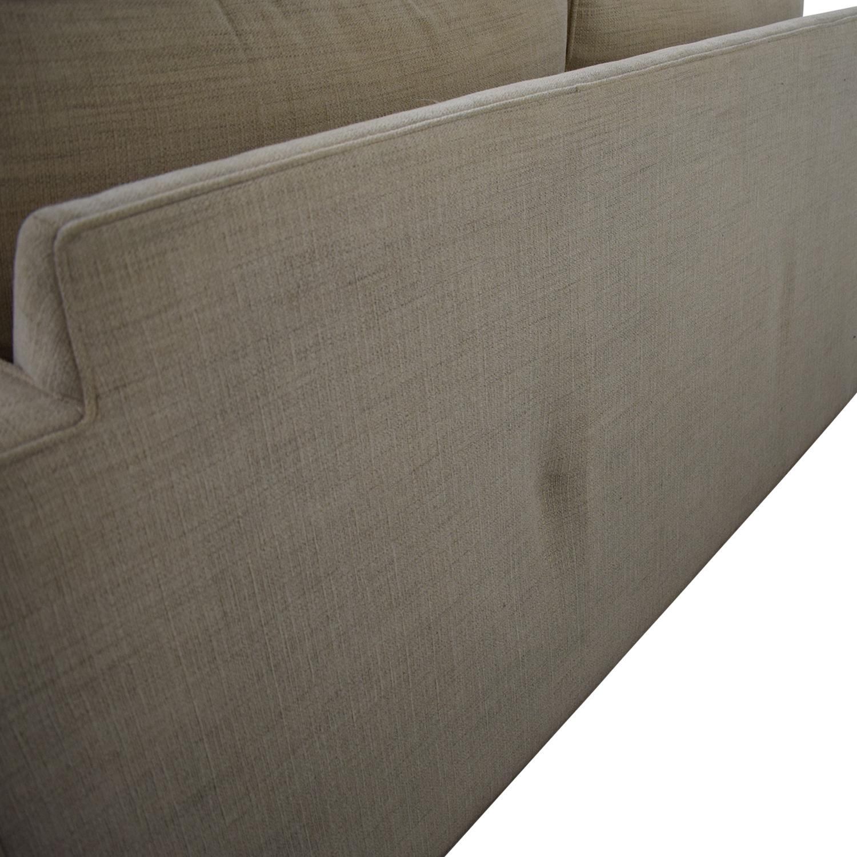 buy Room & Board York Full Sleeper Sofa and Storage Ottoman Room & Board