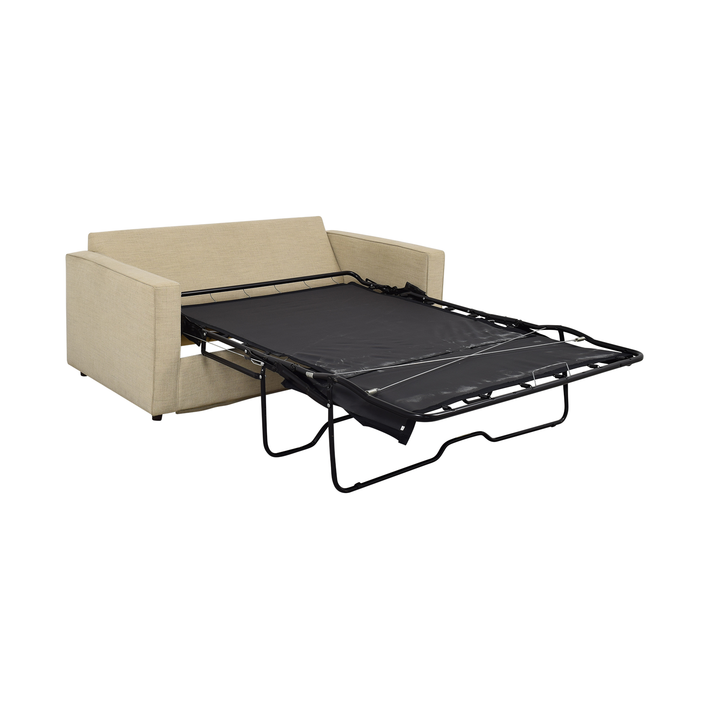 Room & Board York Full Sleeper Sofa and Storage Ottoman / Sofa Beds
