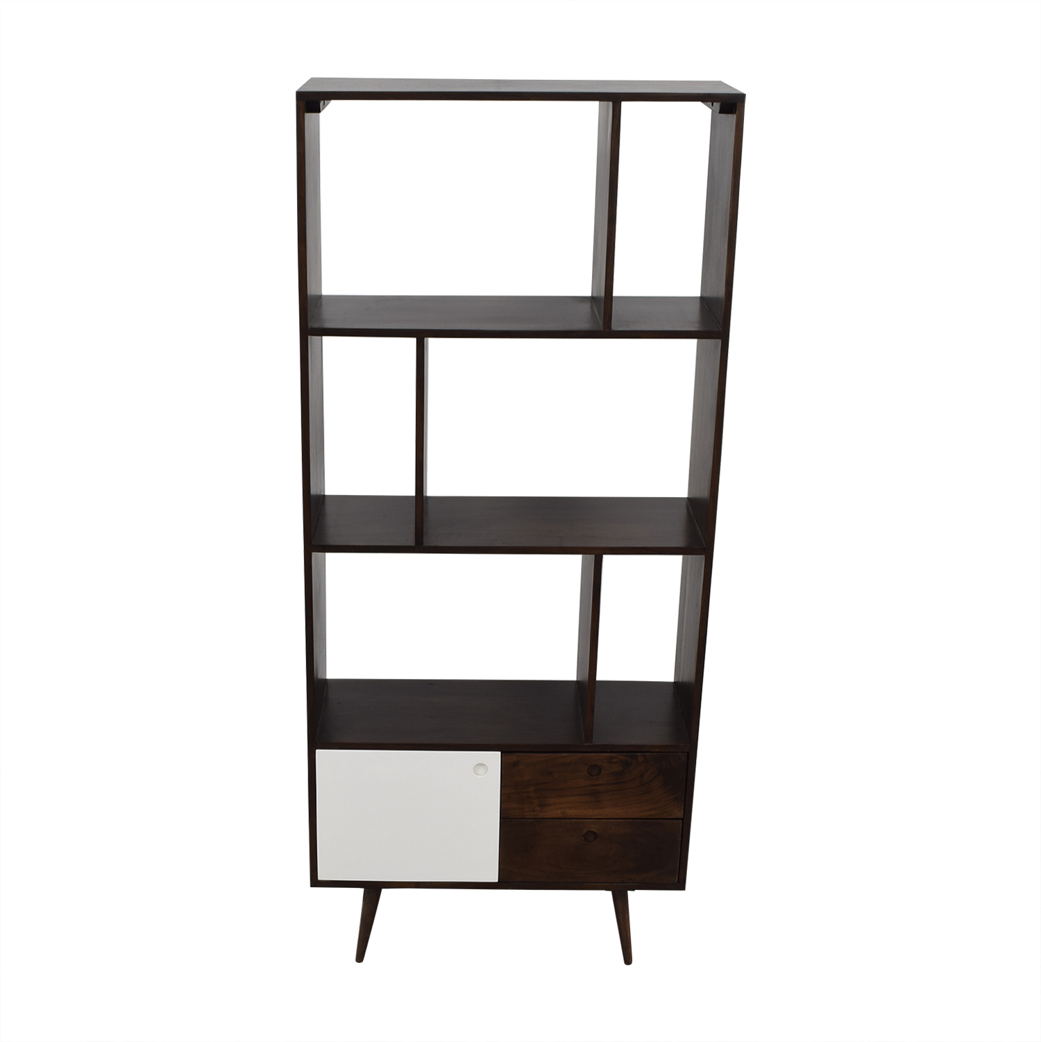buy Mid-Century Modern Shelving Unit  Storage