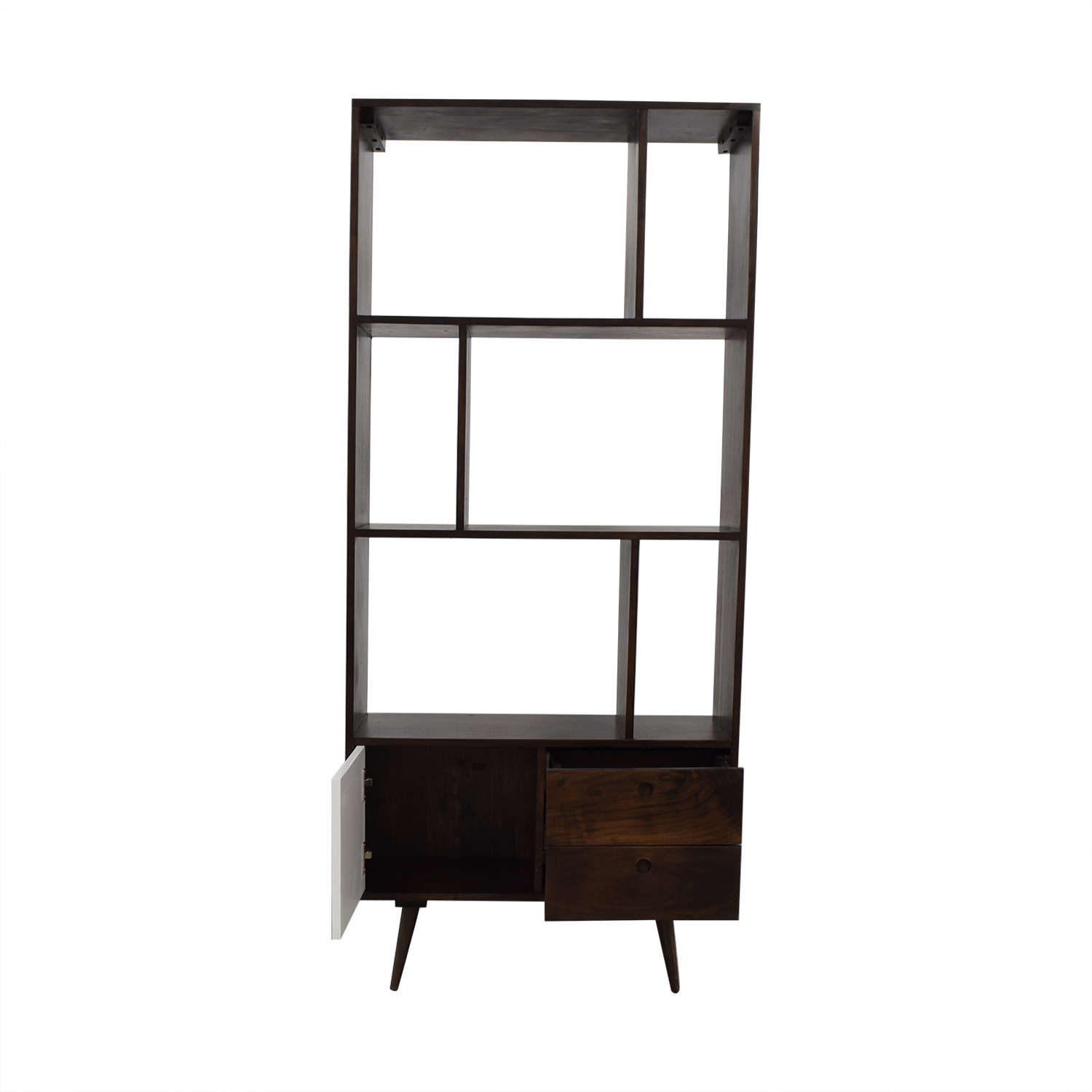 shop Mid-Century Modern Shelving Unit  Bookcases & Shelving