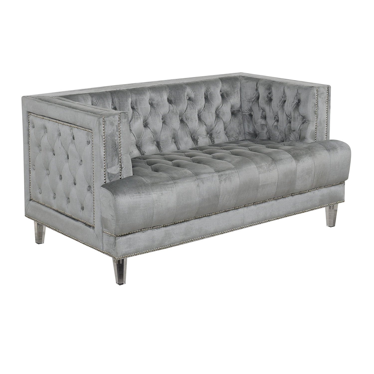 Tufted Chesterfield Loveseat nyc