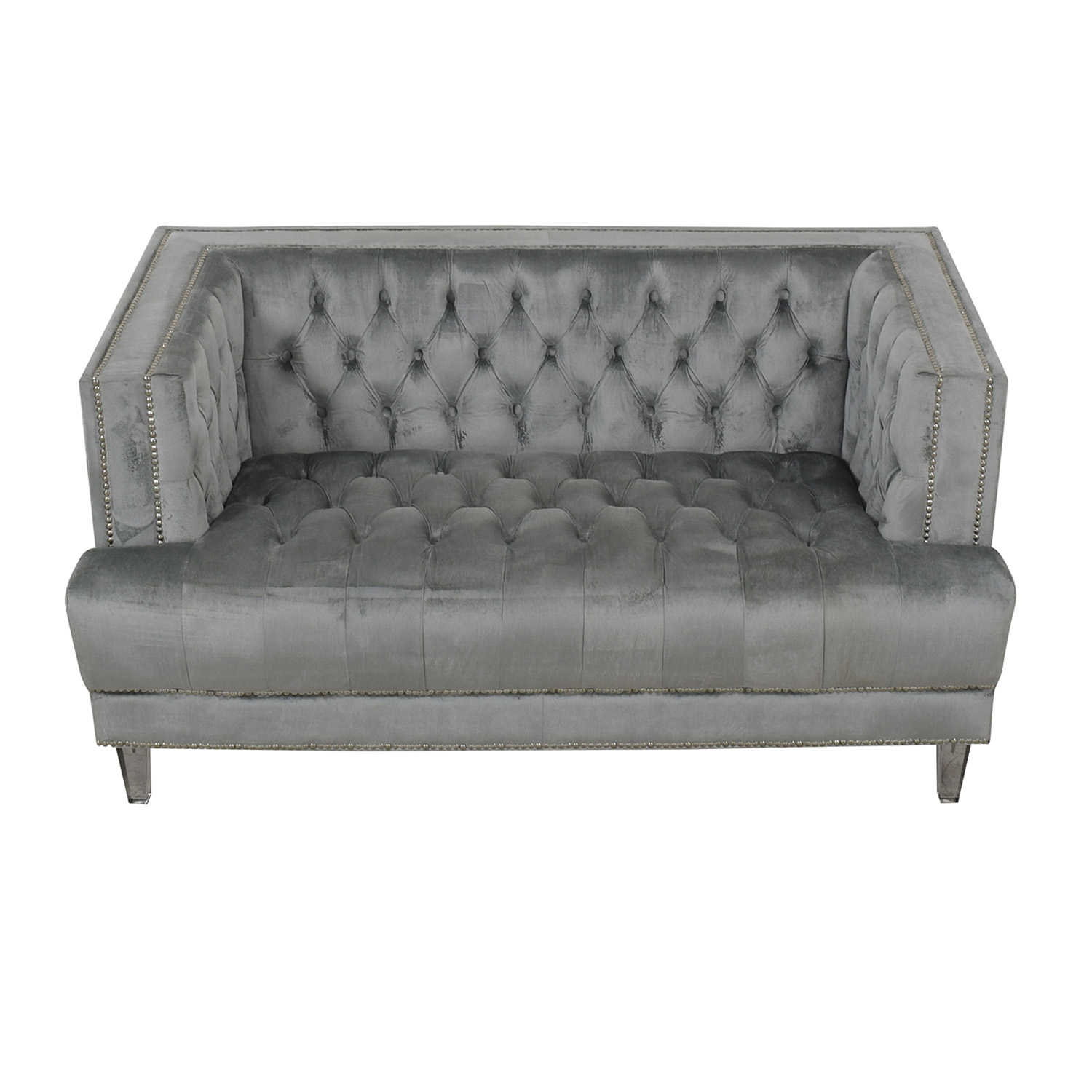 buy Tufted Chesterfield Loveseat
