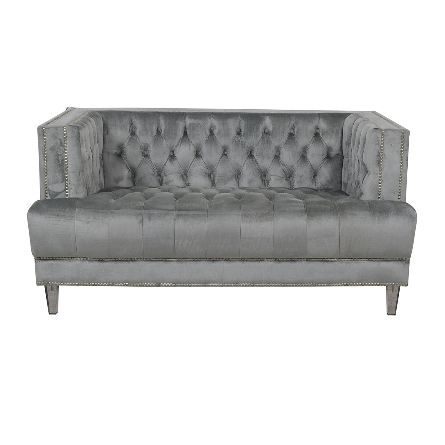 shop Tufted Chesterfield Loveseat  Loveseats