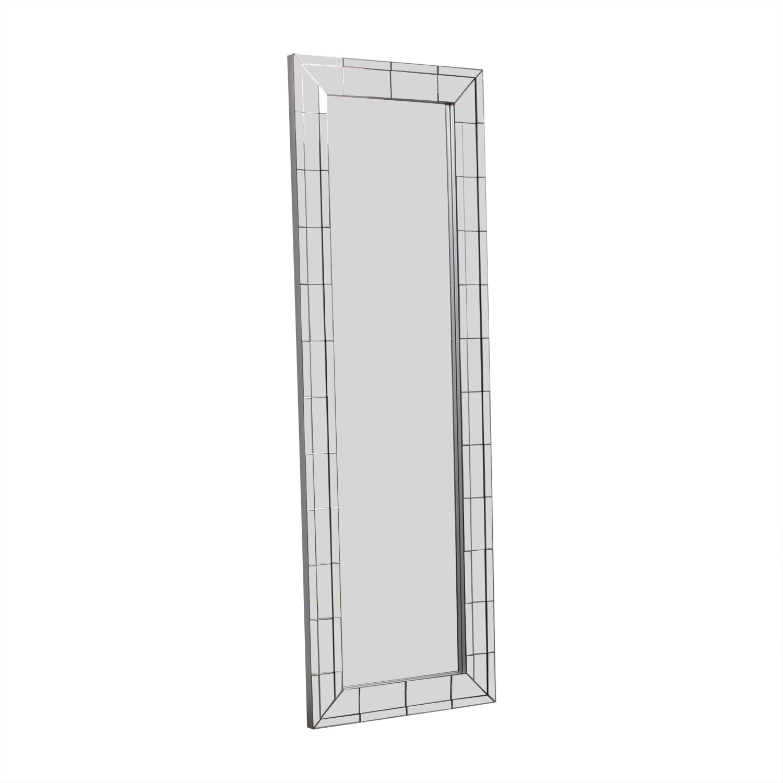 69 Off Coaster Fine Furniture Beveled Floor Mirror Decor
