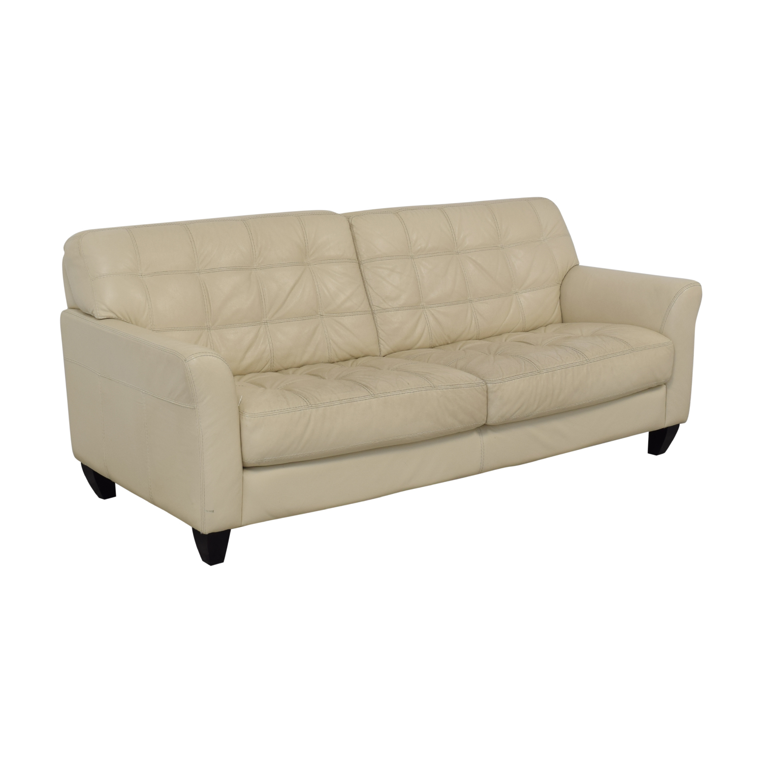 Chateau Dax Furniture Reviews: Chateau D'Ax Chateau D'Ax Milan White Leather