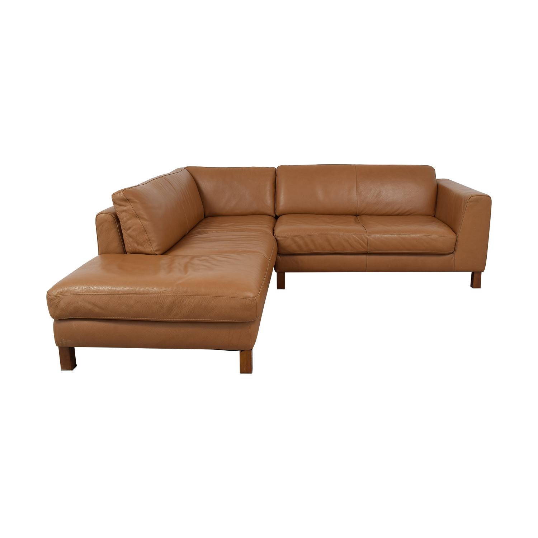 Natuzzi Natuzzi Italsofa L-Shaped Sectional Sofa discount