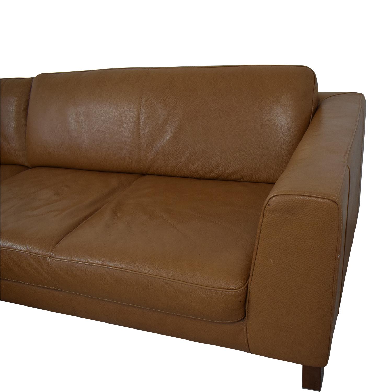 Natuzzi Natuzzi Italsofa L-Shaped Sectional Sofa