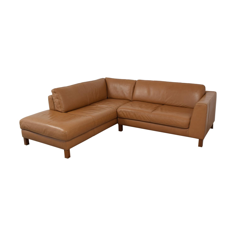 Natuzzi Natuzzi Italsofa L-Shaped Sectional Sofa coupon