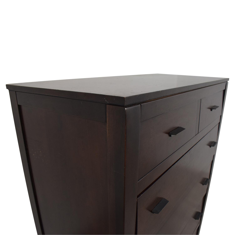 shop Vaughan-Bassett Dark Brown Dresser Vaughan-Bassett