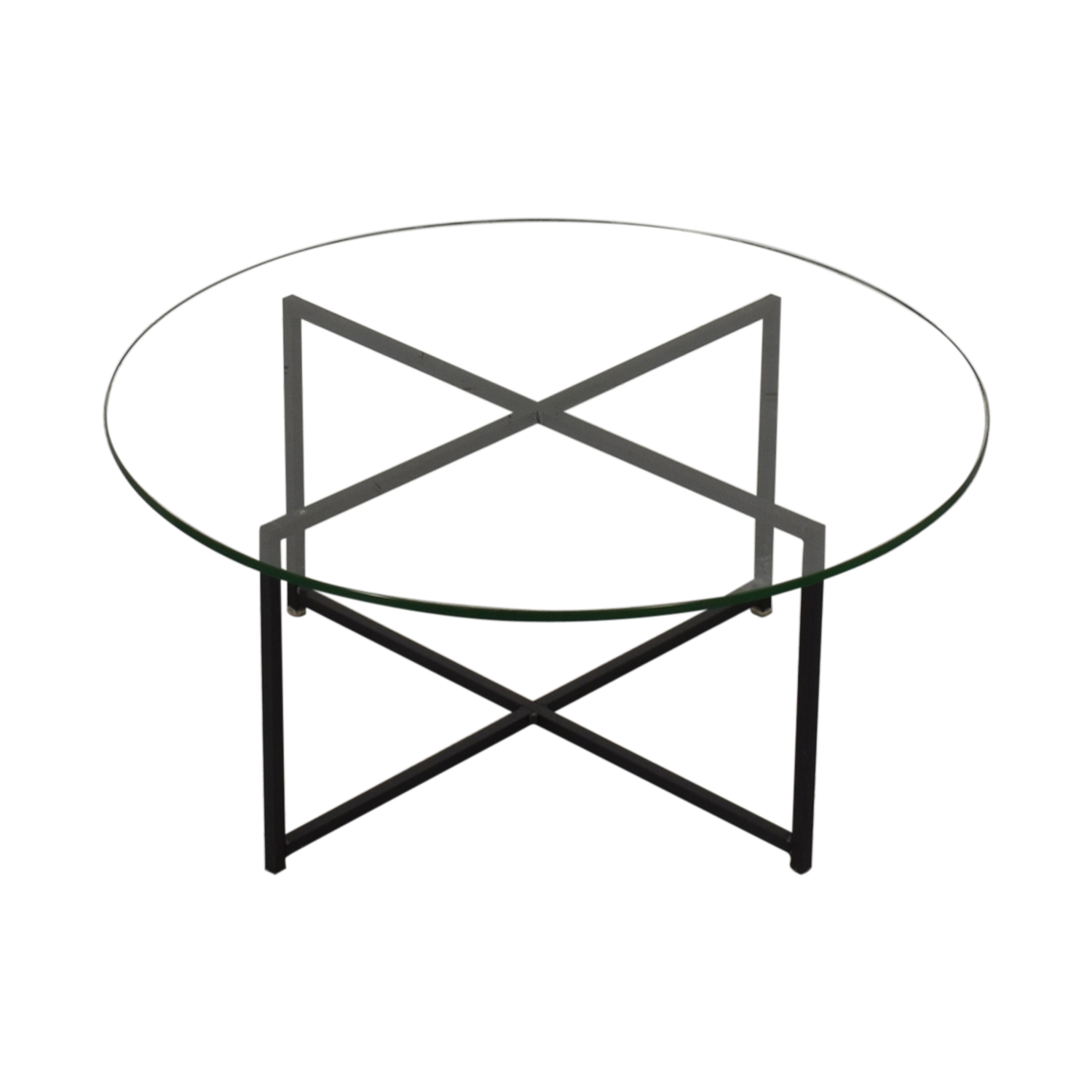 Room & Board Classic Coffee Table in Natural Steel / Tables
