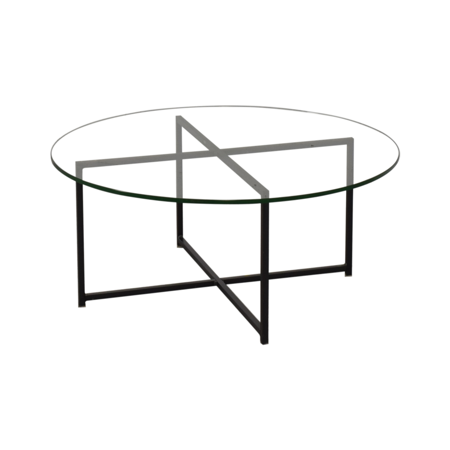 Room & Board Room & Board Classic Coffee Table in Natural Steel dimensions