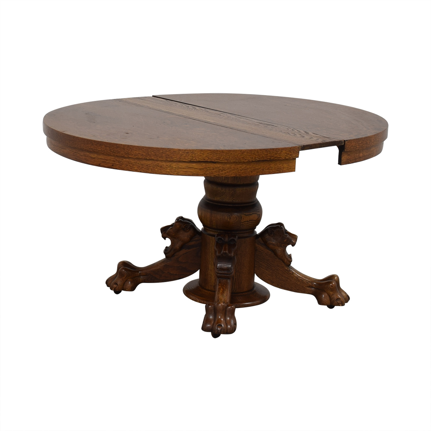 Vintage Extendable Dining Table second hand