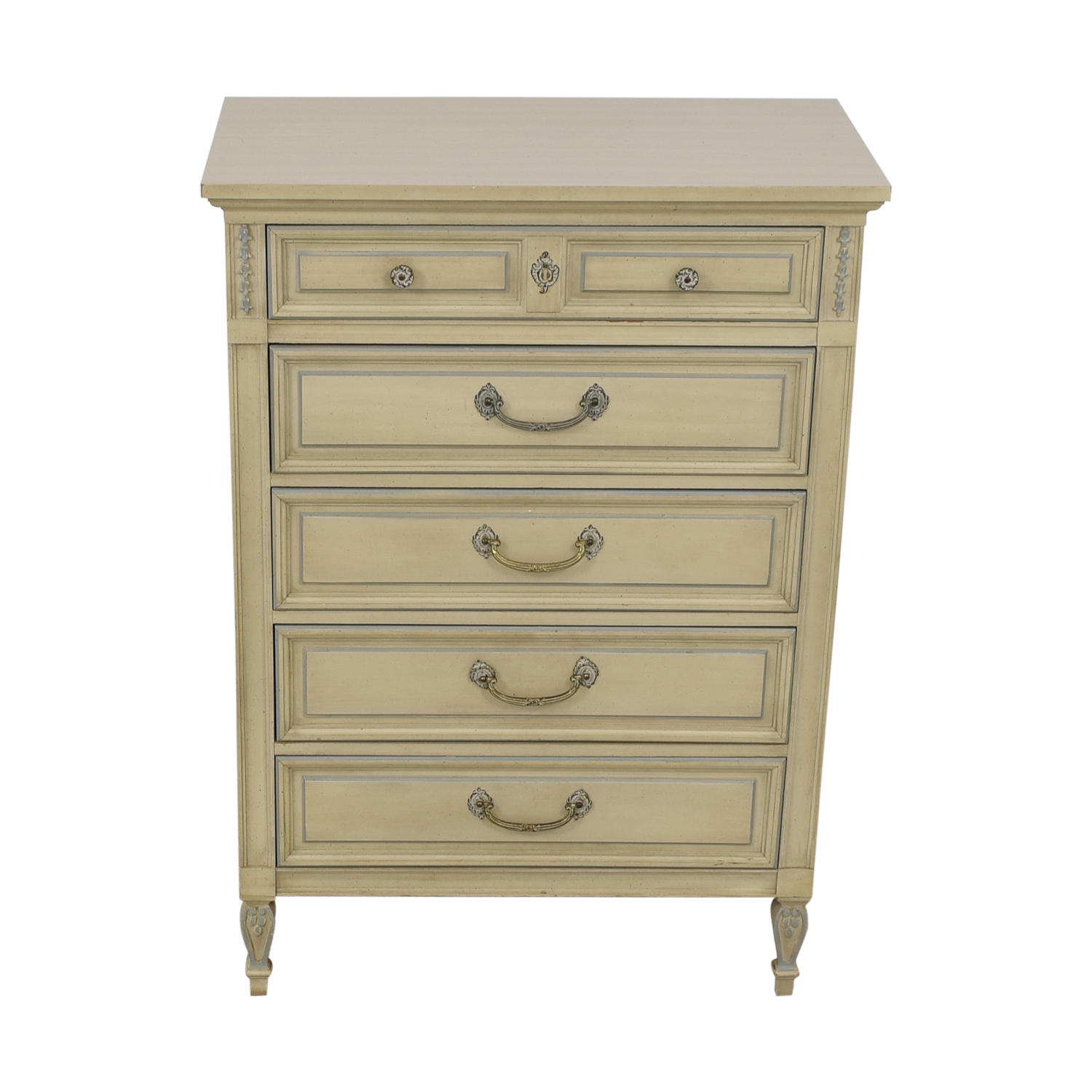 shop Dixie Furniture Chest Of Five Drawers Dixie Furniture Company Dressers