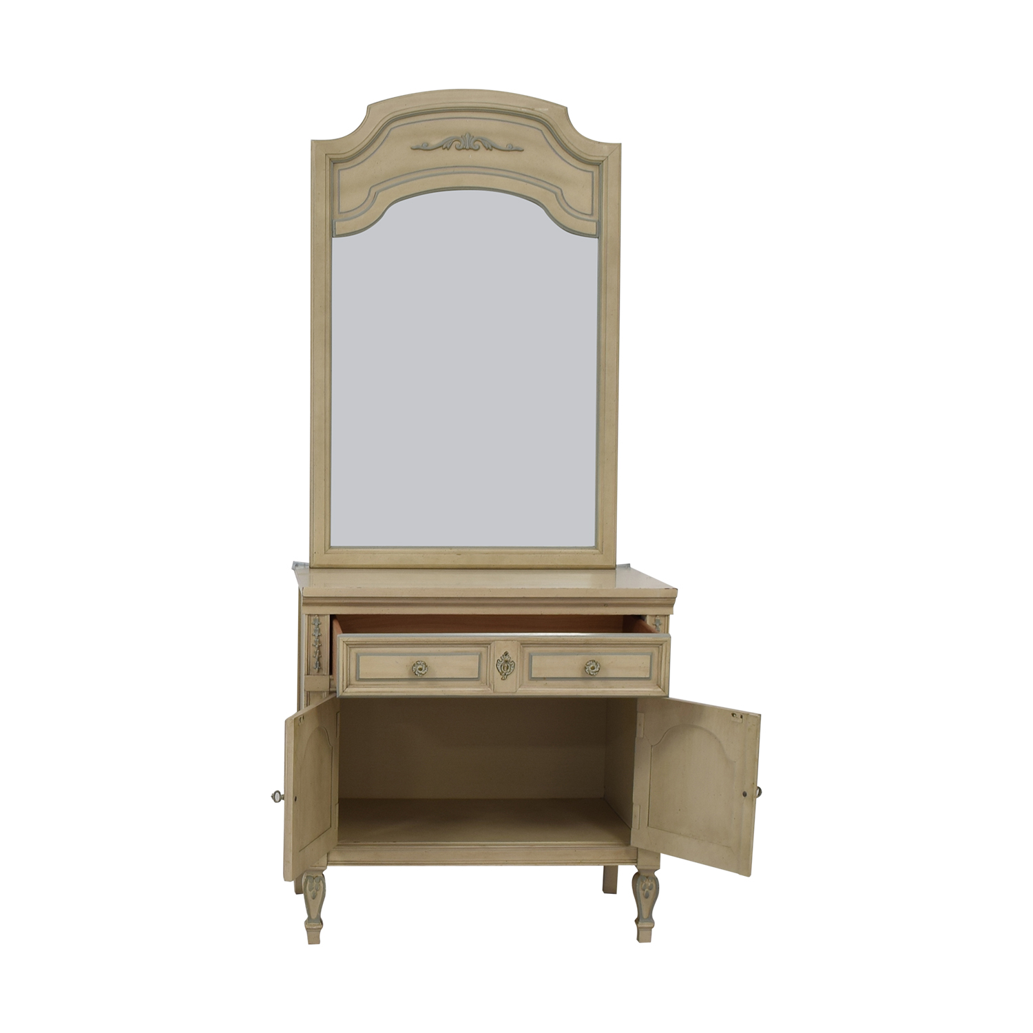 Dixie Furniture Chest with Mirror Dixie Furniture Company