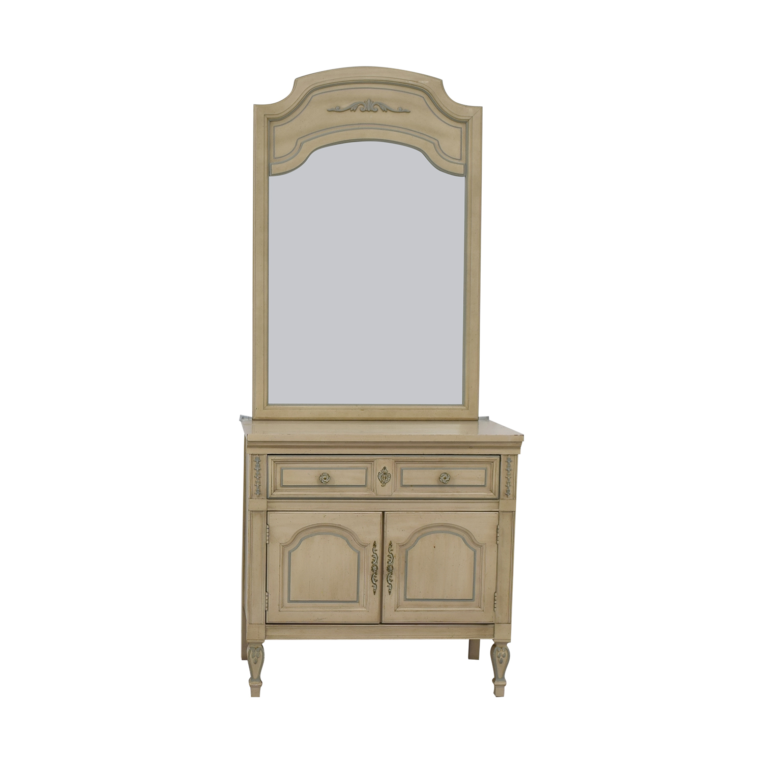 Dixie Furniture Chest with Mirror sale