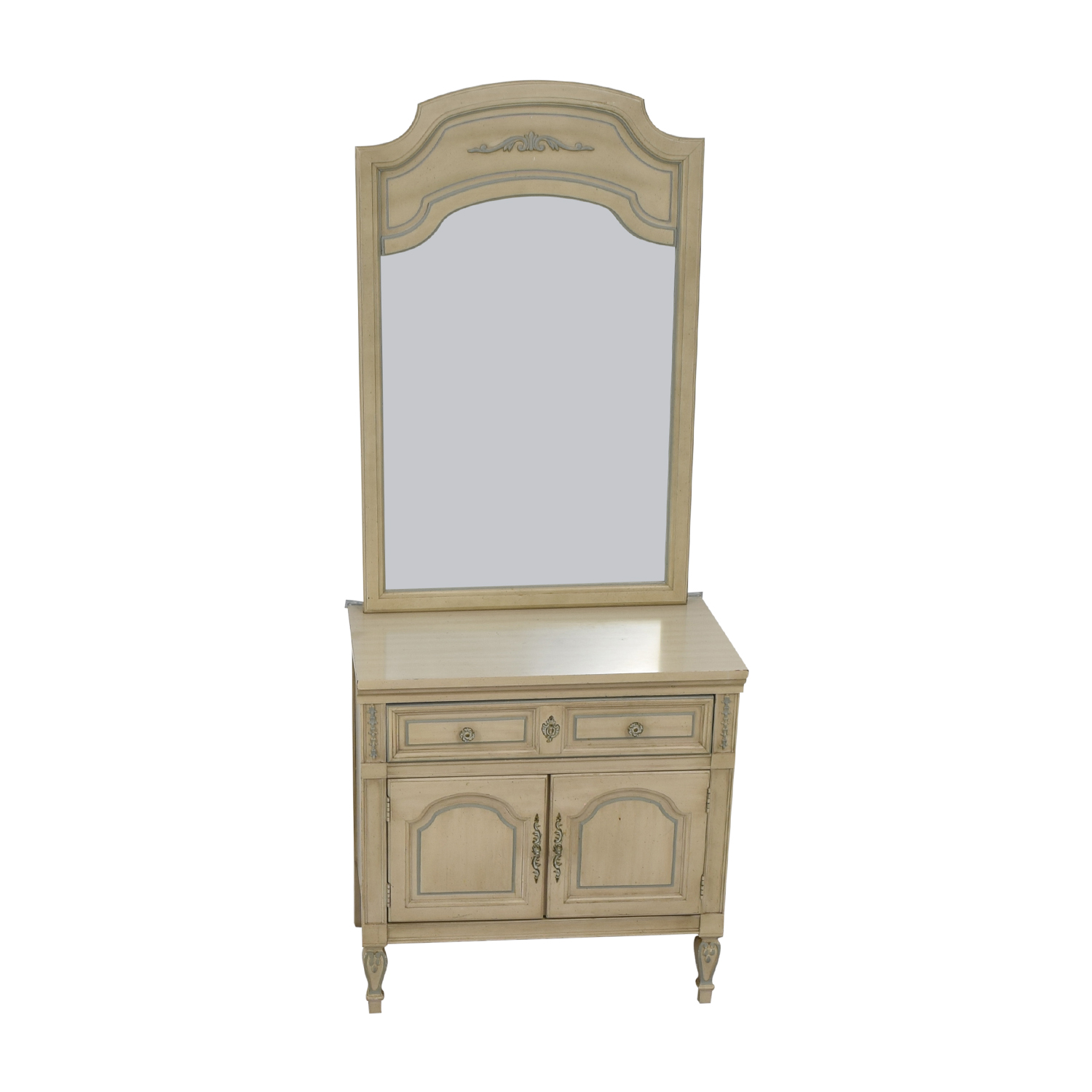 shop Dixie Furniture Chest with Mirror Dixie Furniture Company Storage